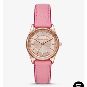 NWT MICHAEL KORS COLETTE WATCH !